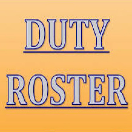 Duty Roster